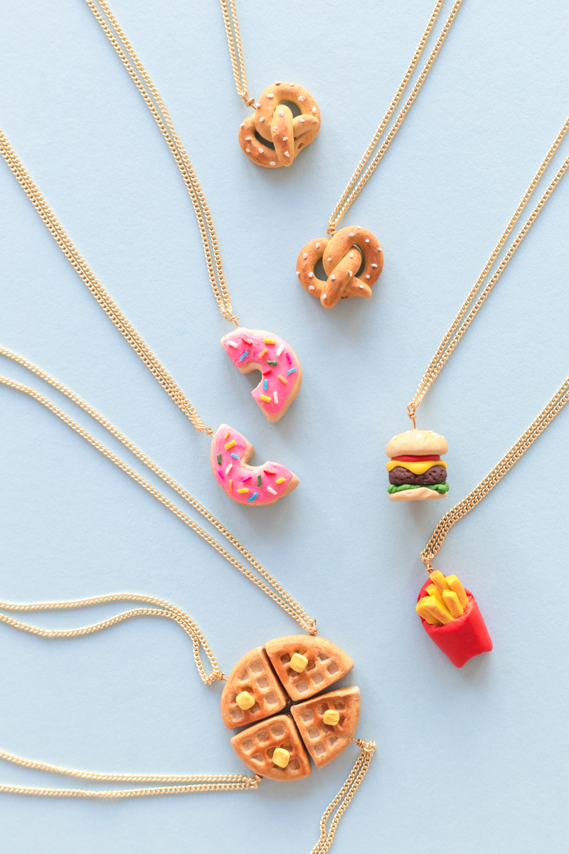DIY-Tiny-Food-Friendship-Neckalces