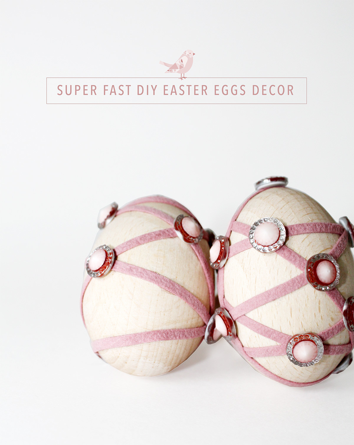 Super fast DIY Easter Eggs Decor