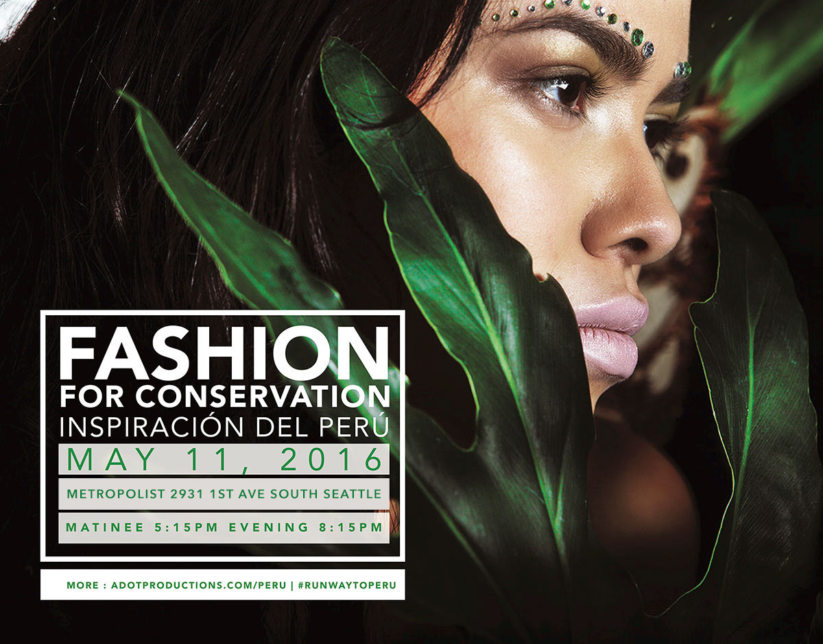 "Fashion for conservation: ""Inspiracion del Peru"" Fashion Show + Giveaway!"