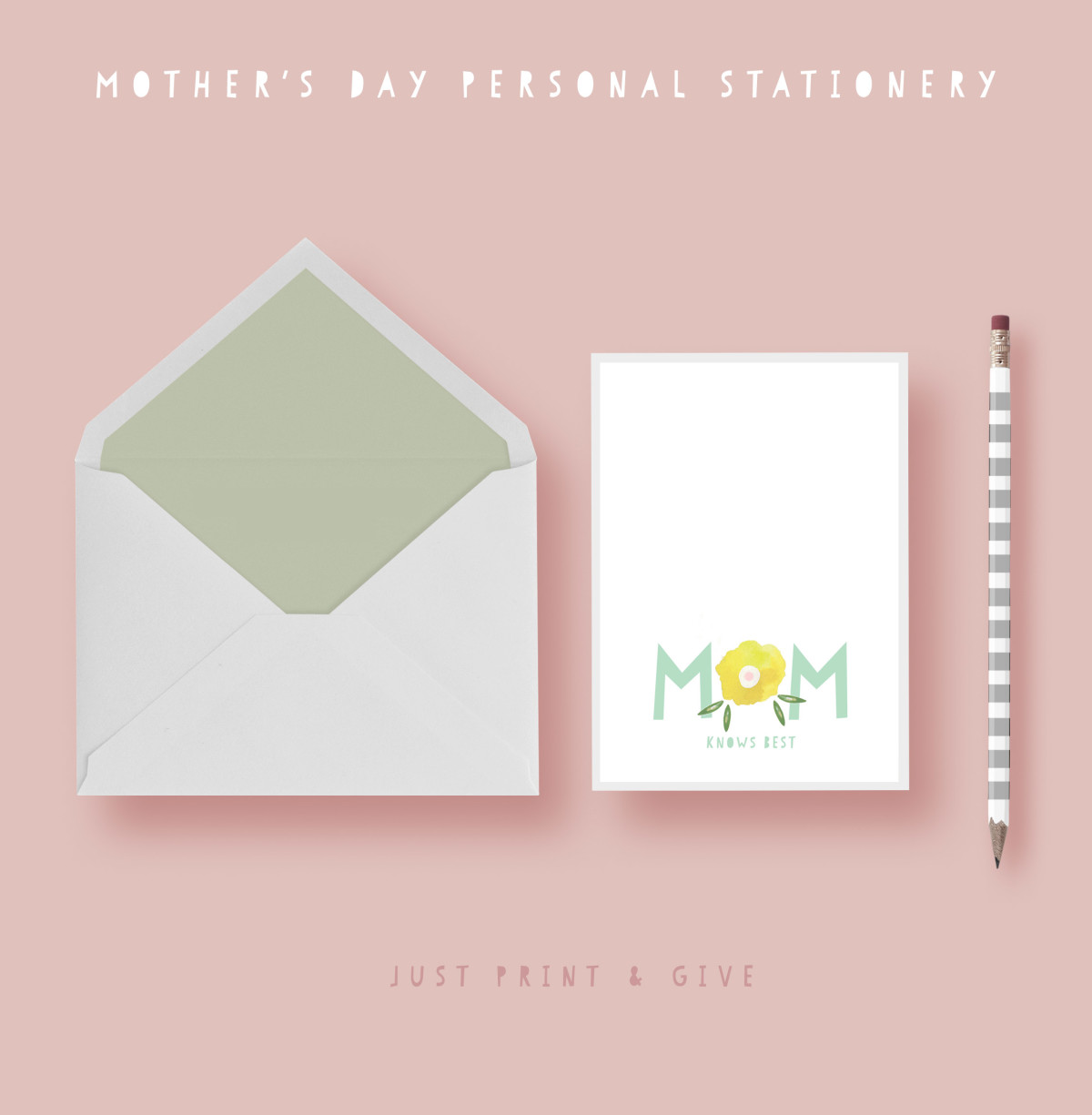 Give mom a special stationery set