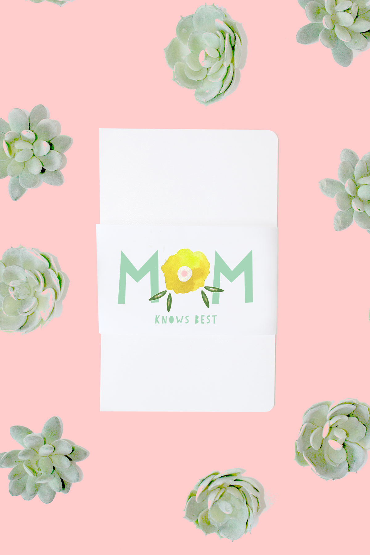 Moleskine Journals for Mother's Day + Printable kraft&mint