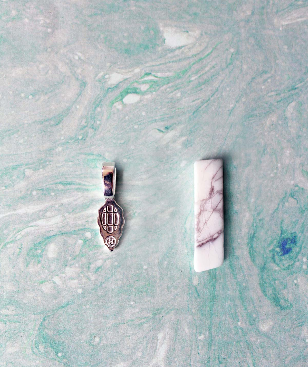DIY Marble Jewelry Accessories under 30 minutes kraft&mint