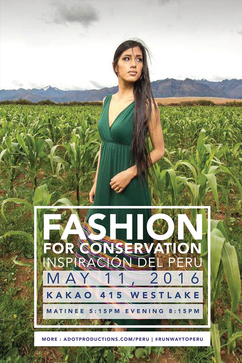 Fashion for conservation: Runway to Peru Fashion Show + Giveaway! - kraft&mint