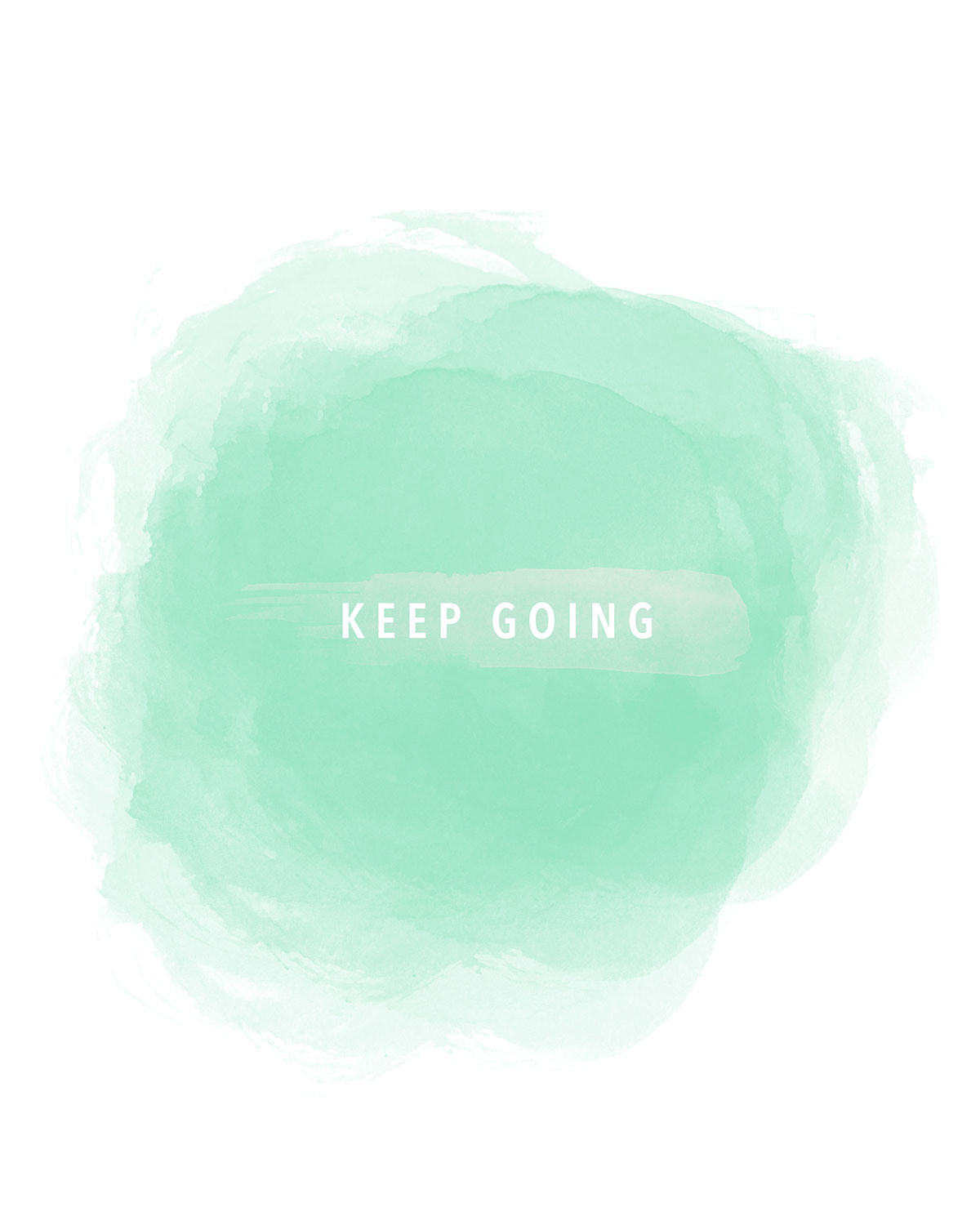 Keep Going 8x10 Printable - kraft&mint