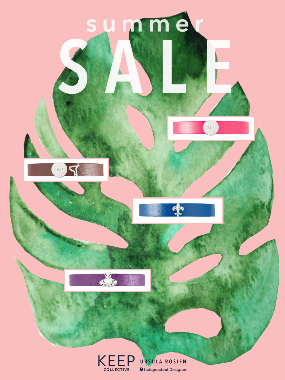 Special Sale: Gorgeous Leather Bracelets KEEP Collective