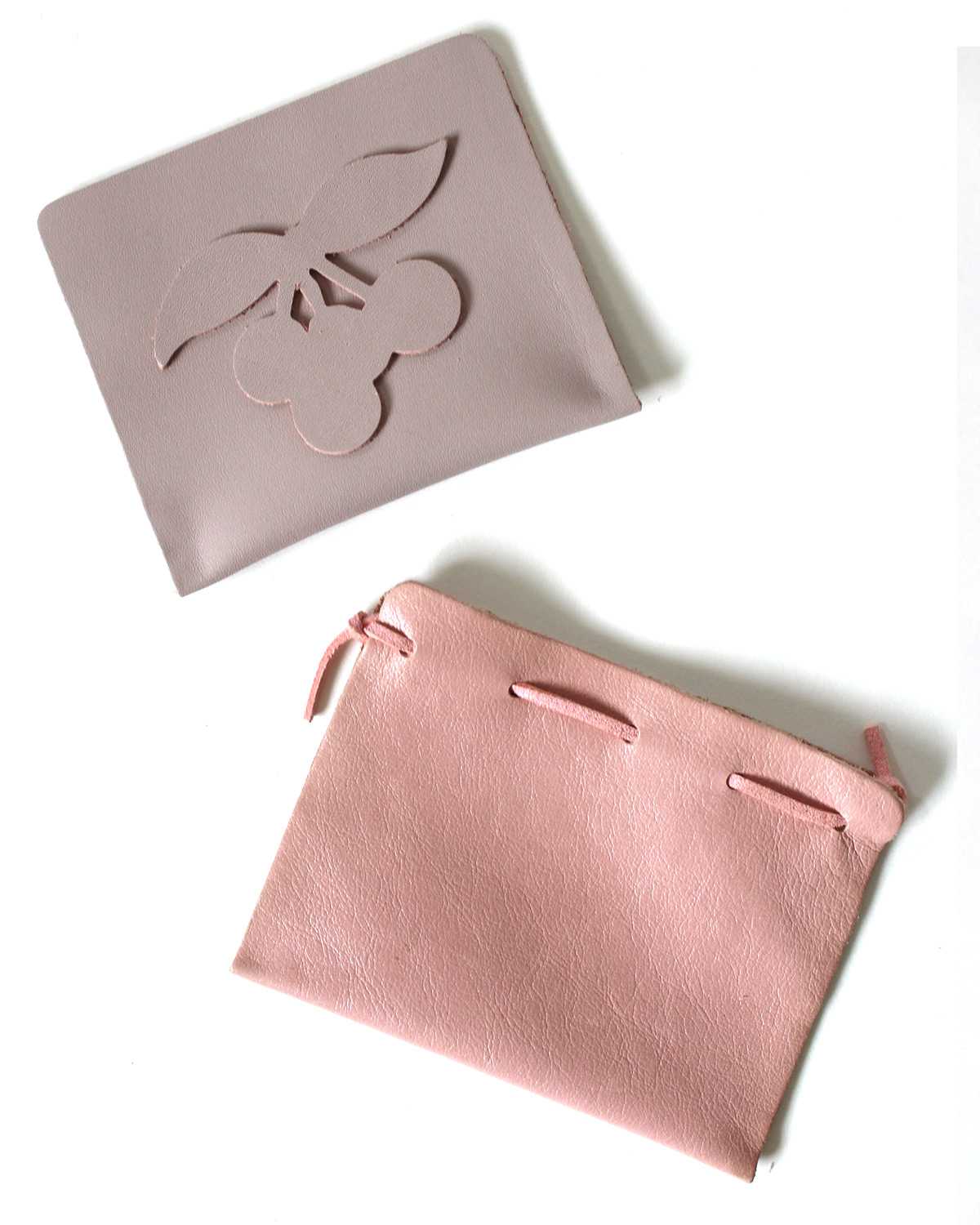 DIY Leather Pouches Designs - krat&mint