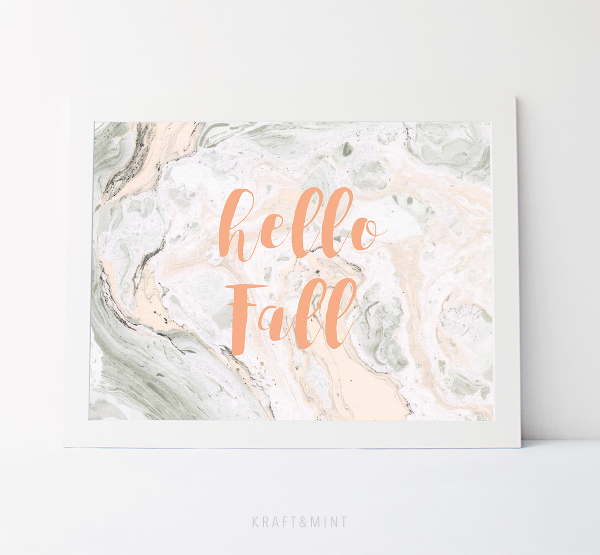 Giveaway! Hello Fall Print
