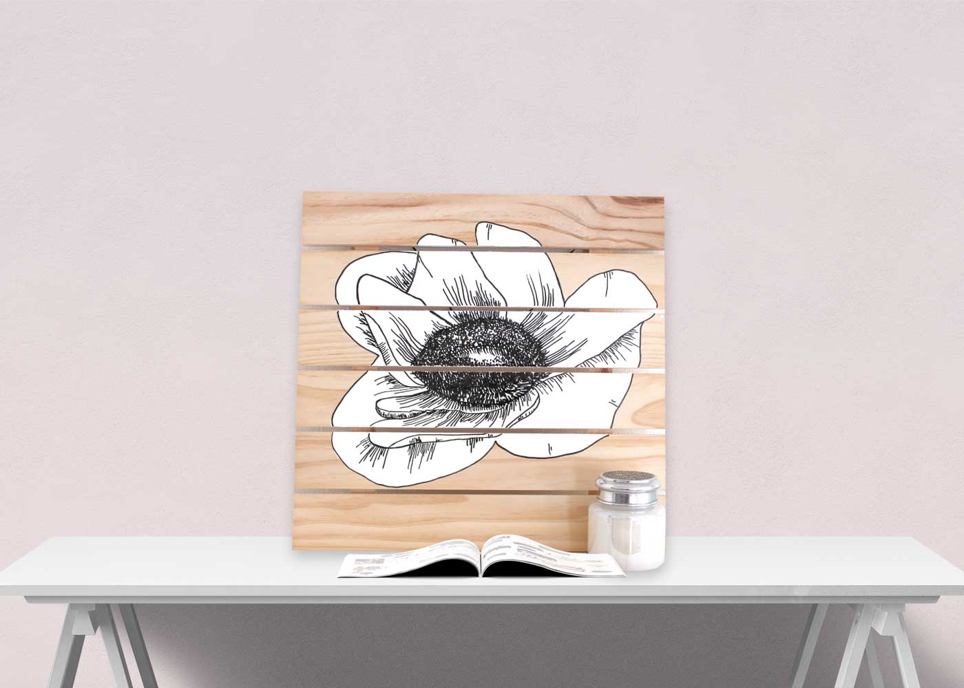 DIY Anemone Artwork