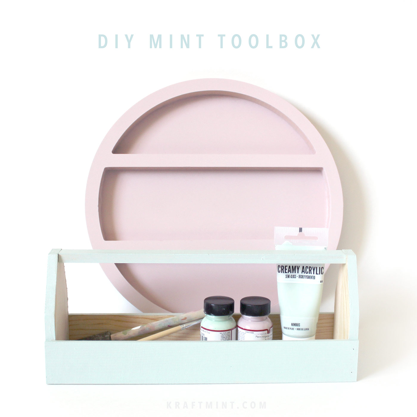 DIY Mint Toolbox kraft&mint blog