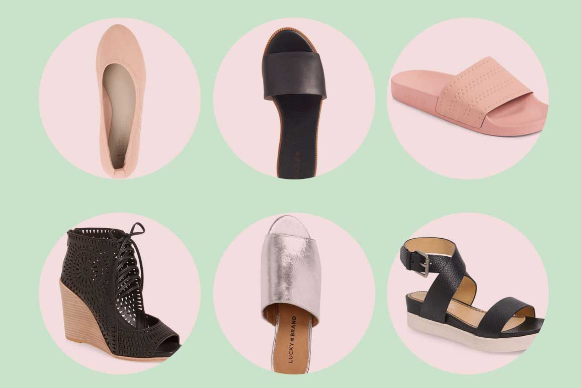 Six Summer Shoes that are comfortable and won't break the bank