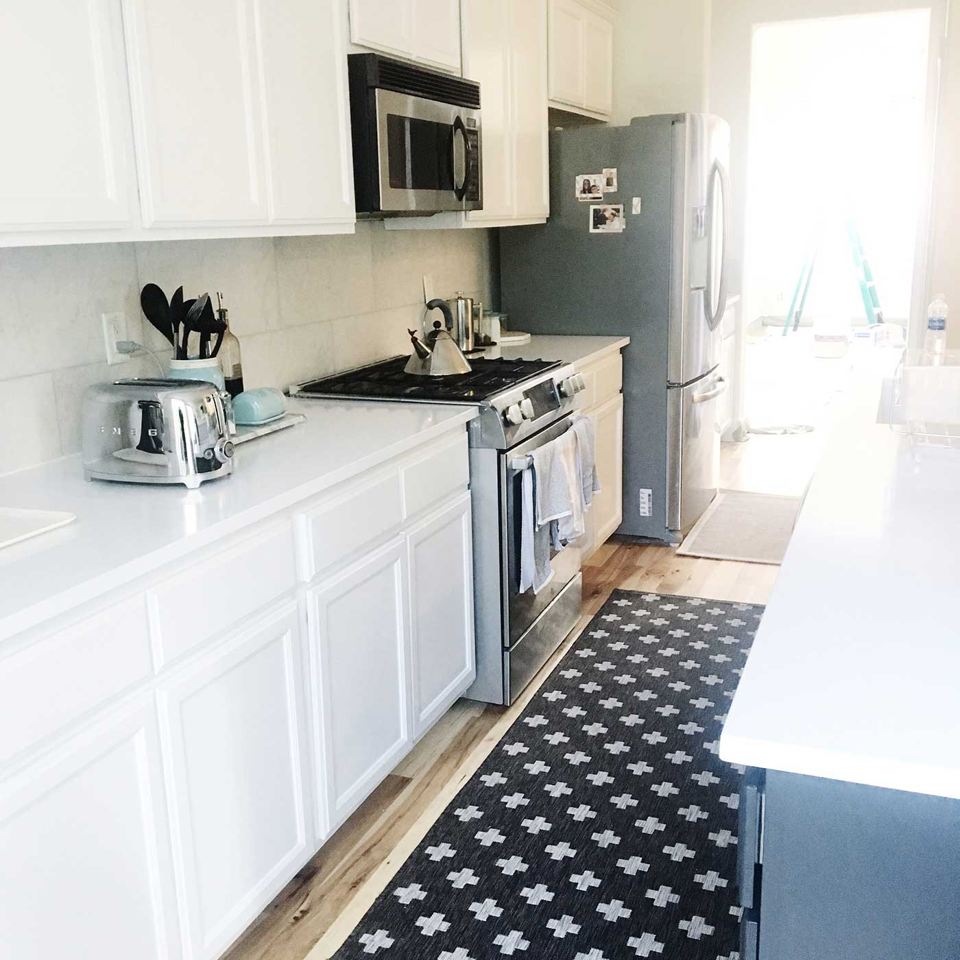 Our kitchen remodel updates - kraft&mint blog