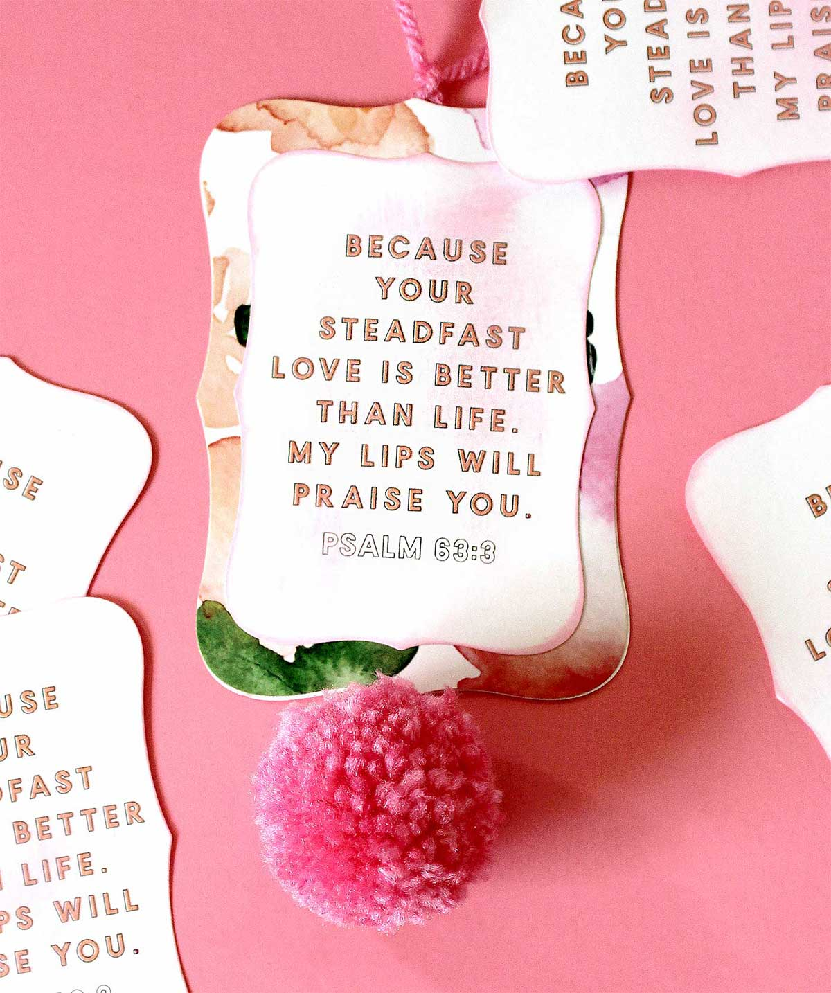 Easy DIY Bible Verse Art