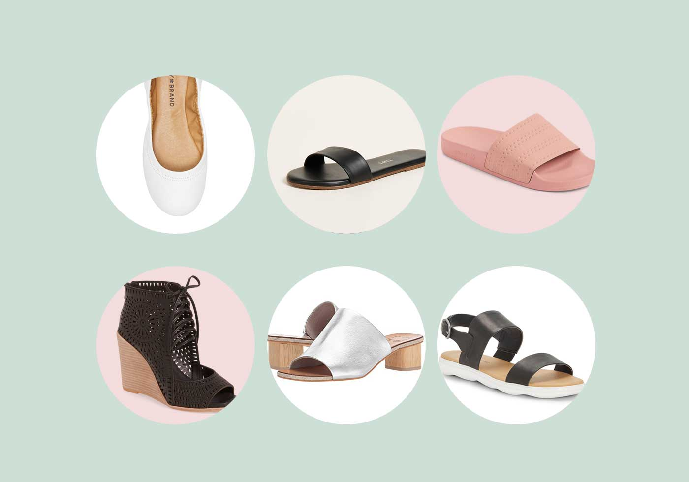 Cute & Practical Summer Shoes