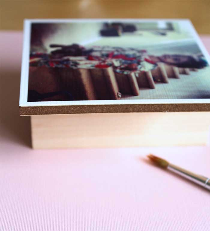 DIY Instagram photos display