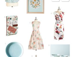 A floral affair| Spring Wish List by kraft&mint